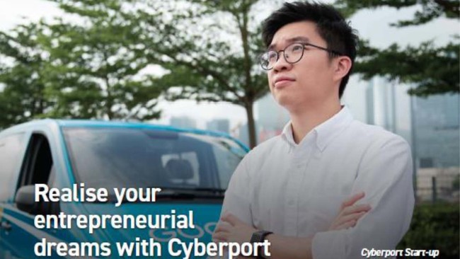 Cyberport Information Session on 8 Oct: Cultivating Innovators on Entrepreneurship and Providing Resources to Shape Your Development