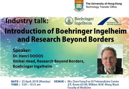 Industry talk: Introduction of Boehringer Ingelheim and Research Beyond Borders
