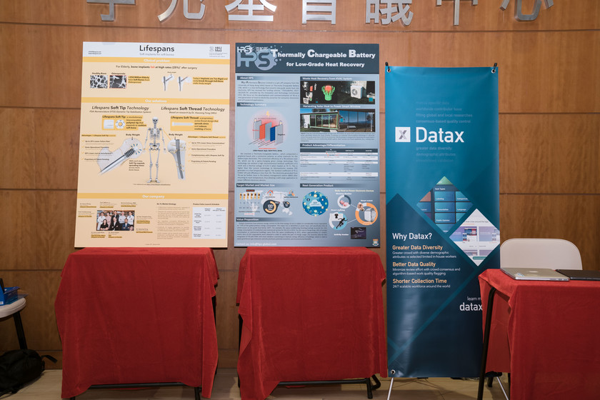 25 HKU start-up companies receive funding from TSSSU@HKU and iDendron Incubation Programme launches gallery photo 4
