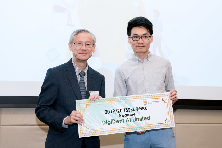 25 HKU start-up companies receive funding from TSSSU@HKU and iDendron Incubation Programme launches gallery photo 19