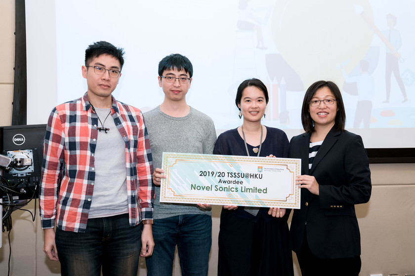 25 HKU start-up companies receive funding from TSSSU@HKU and iDendron Incubation Programme launches gallery photo 28