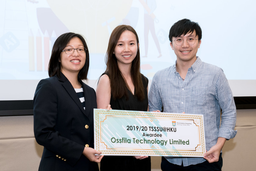 25 HKU start-up companies receive funding from TSSSU@HKU and iDendron Incubation Programme launches gallery photo 29