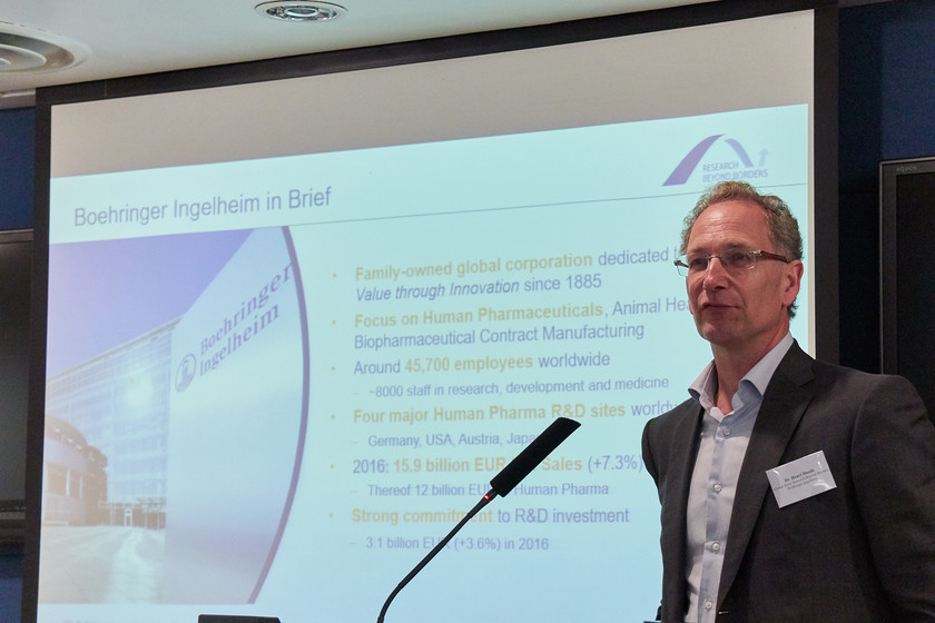 Industry talk: Introduction of Boehringer Ingelheim and Research Beyond Borders  gallery photo 2