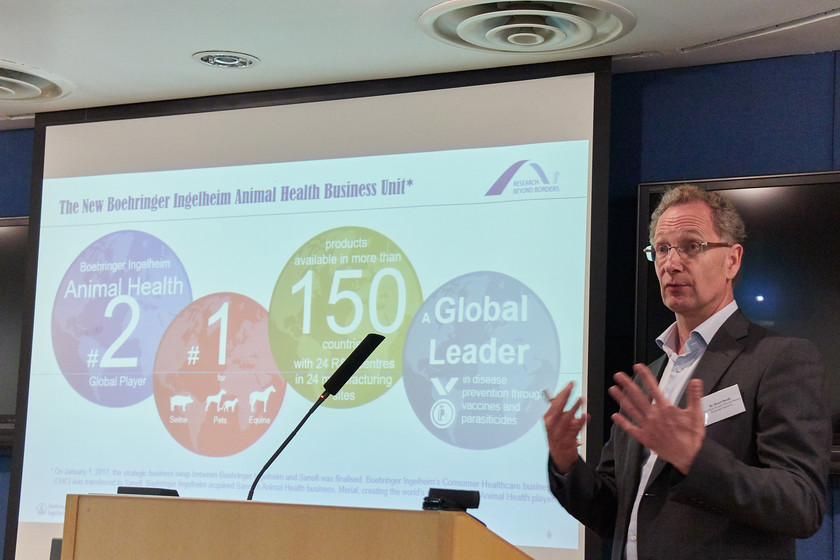 Industry talk: Introduction of Boehringer Ingelheim and Research Beyond Borders  gallery photo 3