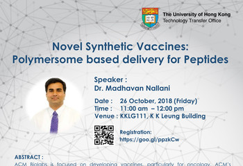 Novel Synthetic Vaccines: Polymersome based delivery for Peptides